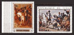 Rwanda / Tchad  XX   ---   Bicentenaire Naissance Napoléon Bonaparte  --  Bataille De Wagram - Napoléon