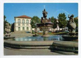 BRAGA - Chafariz E Praça Do Municipio   (2 Scans) - Braga