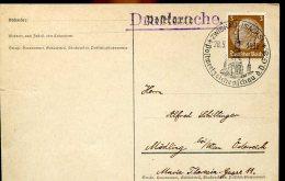 3469 Germany Reich, Special Postmark 1938 Zwichau, Postwertzeichen Schau - Occupation 1938-45