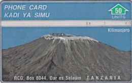 "Tanzania, RCG, 50 Units Mount Kilimanjaro ""510A"" , 2 Scans"