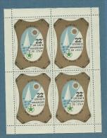 ESPERANTO - RIMINI 1970 22 ESPERANTO KONGRESO DE IFEF - FOGLIETTO  BB - Esperanto