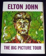 Elton John - Brochure THE BIG PICTURE TOUR  - Concert Musqiue Rock - Musique & Instruments