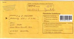 BRD Privatpost 2007 Briefdienst Post Modern Dresden Postzustellungs-Urkunde Förmliche Zustellung - [7] Federal Republic