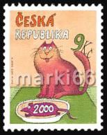 Czech Republic - 2000 - Last Stamp Of Millennium - Mint Stamp - Ungebraucht