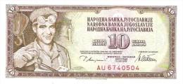 Yugoslavia - Pick 87a - 10 Dinara 1978 - Unc - Jugoslavia