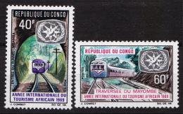 CONGO N° 237 / 238 NEUF* - Ungebraucht