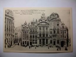 Carte Postale Bruxelles Maison Du Grand Duc Charles De Lorraine Et Du Prince D'Orange Brussels House Of Grand Duc - Monumenten, Gebouwen