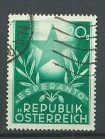 ESPERANTO - AUSTRIA  20 G -  ESPERANTO - Esperanto