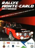 CPM  -     Rallye Monte-Carlo     Janvier 2015  - Lancia - - Rallyes