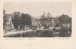 Haarlem - Spaarne Met Waaggebouw   - Scan Recto-verso - Haarlem