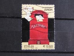 ITALIA USATI 2008 - EUROPA 2008 LA LETTERA - SASSONE 3031- RIF. G 2087- 1^ SCELTA - 6. 1946-.. Repubblica