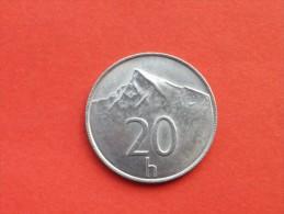 SLOVAQUIE 20 HALIEROV 1994  Republique           Km 18 -ALU-    TTB++-UNC - Slovaquie