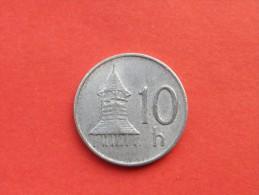 SLOVAQUIE 10 HALIEROV 1993  Republique           Km 17 -ALU-    TTB++-UNC - Slovaquie