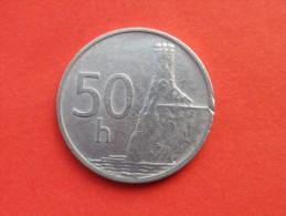 SLOVAQUIE 50 HALIEROV 1993  Republique           Km 15 -ALU-    TTB -UNC - Slovaquie