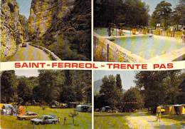 26 - SAINT FERREOL TRENTE PAS : Multivues - Piscine Camping - CPSM GF - Drôme - Sonstige Gemeinden