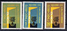 PORTUGAL 1960 .AFINSA Nº 851/853. Ano Mundial Dos Refugiados  .NUEVO CON  CHARNELA .SES230GRANDE - Nuevos