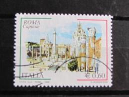 ITALIA USATI 2008 - ROMA CAPITALE 2008 - SASSONE 3026- RIF. G 2089 - 1^ SCELTA - 6. 1946-.. Repubblica