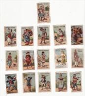 Chromo  CHOCOLAT POULAIN   Lot De 16    Petit Format - Poulain