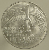 10 Mark - JO Munchen - Allemagne - 1972  G - Argent - TTB - Collections