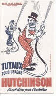Buvard Tuyaux Tous Usages Hutchinson Caoutchouc Pour L'Industrie. - Buvards, Protège-cahiers Illustrés