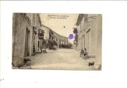 MONTREAL  AVENUE DE SANILHAC   CARTE TACHEE - Unclassified
