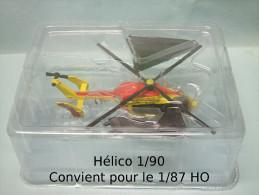 Del Prado - HELICOPTERE HELICO EUROCOPTER EC 145 Sécurité Civile 1/90 HO 1/87 - HO Scale