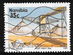 Namibia, Scott # 682 Used Mine, 1991 - Namibia (1990- ...)