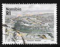 Namibia, Scott # 686 Used Rossing Mine, 1991 - Namibia (1990- ...)