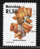 Namibia, Scott # 687 Used Wulfenite, 1991, Round Corner - Namibia (1990- ...)