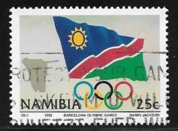 Namibia, Scott # 719 Used Olympics, Flag, 1992 - Namibia (1990- ...)
