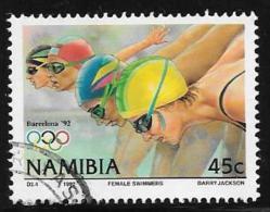 Namibia, Scott # 720 Used Olympics, Swimmers, 1992 - Namibia (1990- ...)