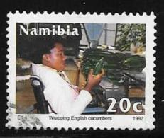 Namibia, Scott # 722 Used Disabled Worker, 1992 - Namibia (1990- ...)