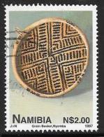 Namibia, Scott # 833 Used Grain Basket, 1997 - Namibia (1990- ...)