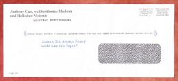 Brief, Anthony Carr, Postage Paid Hongkong Port Paye Permit No 2206 (88849) - Cartas