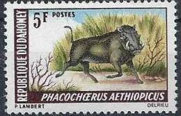 1968-69 DAHOMEY  265** Phacochère - Benin – Dahomey (1960-...)