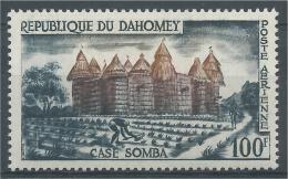 Dahomey (Benin), Royal Palaces Of Abomey, 1960, MNH VF  Airmail - Benin - Dahomey (1960-...)