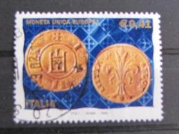 ITALIA USATI 2002 - MONETA UNICA - SASSONE 2593 - RIF. G 2112 - 1^ SCELTA - 6. 1946-.. Repubblica