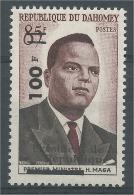 Dahomey (Benin), Hubert Maga, President Of Dahomey, 1961, MNH VF - Benin - Dahomey (1960-...)