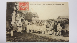 CHEMAZE 53 Fete De Jeanne D'Arc 26 Septembre 1909 Mayenne CPA Animee Postcard - Other Municipalities