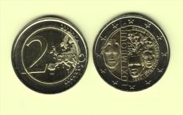 @Y@   Luxemburg     2 Euro 2015  Commemorative   UNC    Dynastie - Luxemburg