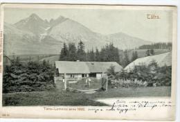Magas Tatra Vysoké Tatry Tatralomnicz 1892 Tatranska Lomnica Slovakia Postcard RARE! - Slovaquie