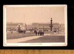 Photographie Originale Place De La Concorde Edition Paris Instantané QV Maison Martinet A Hautecoeur 12 Bd Capucines - Photos