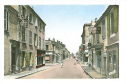 17 - MARANS - La Rue D'Aligre (commerces, Charcuterie....) - France