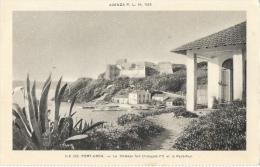 Ile De Port-Cros - Le Château Fort Et Le Petit-Port - Agenda P.L.M. 1929 - Edition J. Barreau - Carte Non Circulée - France