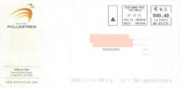 EMA MB 625735 Perpignan Pyrénées Orientales Sur Enveloppe Illustrée Mairie De Pollestres - Marcofilia (sobres)