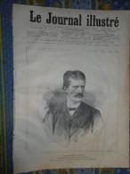 JOURNAL ILLUSTRE 19/09/ 1886 ITALIE M SUCCI SALON LOUIS GARDETTE LE QUI VIVE - 1850 - 1899