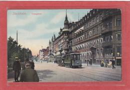 SUEDE - STOCKHOLM - CHEMINS DE FER - TRAMWAYS - Vasagatan (Tramway) - Animation - Suède