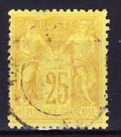 FRANCE TYPE SAGE II 1877-81 YT N° 92a Obl. - 1876-1898 Sage (Type II)