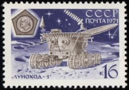 RUSSIA - Scott #3837 Soviet Moon Exploration, Lunokhod-1 Moon-vehicle / Mint NH Stamp - Neufs