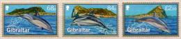 Gibraltar MNH Dolphins Set - Dolphins